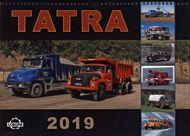 Nástenný kalendár Tatra 2019