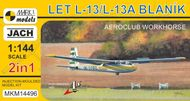 L-13 Blanik 'Aeroclubs' (2in1) - stavebnica