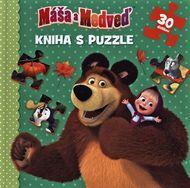 Máša a medveď: Kniha puzzle (30 dielikov)