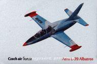 Kovová magnetka - Motív Aero L-39 Albatros