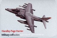 Kovová magnetka - Motív Handley Page Harrier