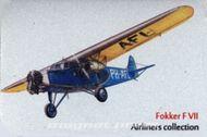 Kovová magnetka - Motív Fokker F VII
