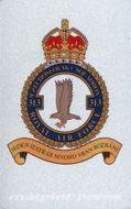 Kovová magnetka - 313. československá stíhací peruť RAF