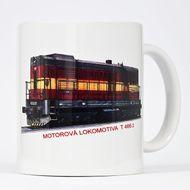 Motorová lokomotíva T 466.2 - Hrnček