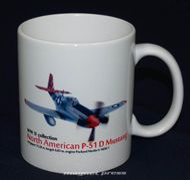 North American P-51 D Mustang - Hrnček