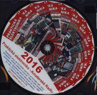 CD Amatérské radio - Praktická elektronika ročník 2016
