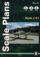 Scale Plans - Saab J 21