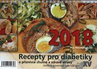 Stolový kalendář 2018: Recepty pro diabetiky