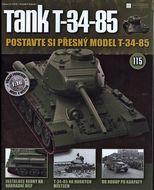 Tank T-34-85 č.115