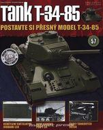 Tank T-34-85 č.57