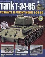 Tank T-34-85 č.74