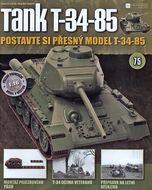 Tank T-34-85 č.75