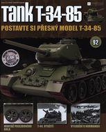 Tank T-34-85 č.92