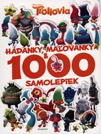 Trollovia - Hádanky, maľovanky a 1000 samolepiek