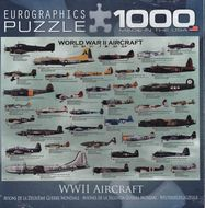 Puzzle 1000: Lietadlá II. svetovej vojny (WWII Aircraft)
