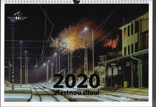 Nástenný kalendár 2020 Vlastnou silou!