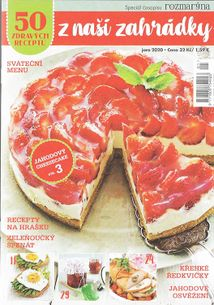 50 zdravých receptů z naší zahrádky - Speciál časopisu Rozmarýna - predplatné