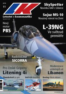 Letectví + kosmonautika č.11/2018 (e-vydanie)