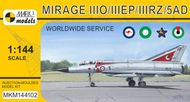 Model Mirage IIIO/EP/RZ/5AD 'Worldwide Service' (RAAF, PAF, SAAF, UAEAF)