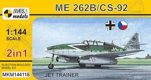 Model Messerchmitt Me 262B/CS-92 Jet Trainer (2v1) MKM144118