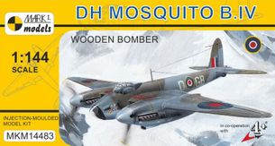 Stavebnica DH Mosquito B.IV Wooden Bomber (1:144)