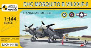 Stavebnica DH Mosquito B.VII / F-8 Canadian Mossie (1:144)