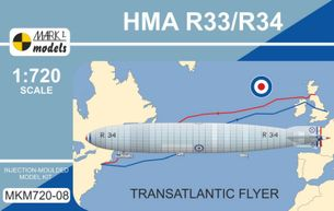 Stavebnica HMA/R34 Transatlantic Flyer (1:720)