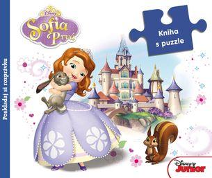Sofia Prvá - Kniha s puzzle