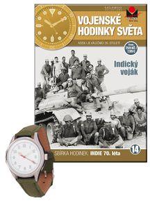Vojenské hodinky světa č.14 - Indický voják, 70. léta 20. století