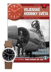 Vojenské hodinky světa č.03 - Britská RAF/armáda -60.léta