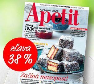 APETIT - AKCIA 2020 - predplatné