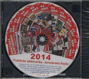 CD Amatérské radio - Praktická elektronika ročník 2014