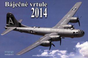 Báječné vrtule - stolový kalendár na rok 2014