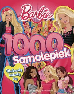 Barbie - 1000 samolepiek