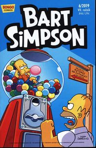 Simpsonovi - Bart Simpson 06/2019: Černý zub