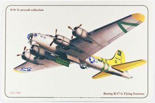 B-17 G Flying Fortress - ALUMCARD