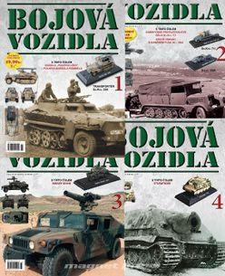 Bojová vozidla - kolekcia modelov