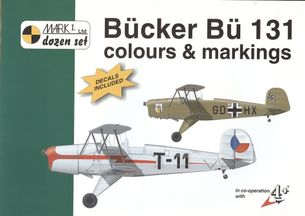 Bücker Bü-131 - colours & markings 1:72