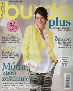 Burda plus fashion - Móda pro plnoštíhlé - jaro/léto 2014 - E067