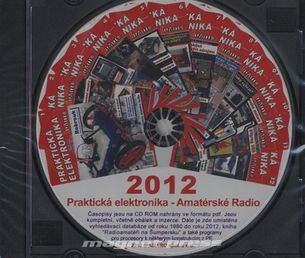 CD Amatérské radio - Praktická elektronika ročník 2012