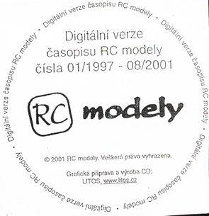 CD ROM - RC Modely č. 1997/01 - 2001/08
