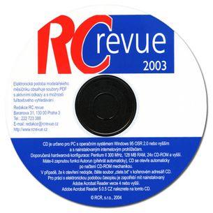 CD ROM - RC Revue 2003