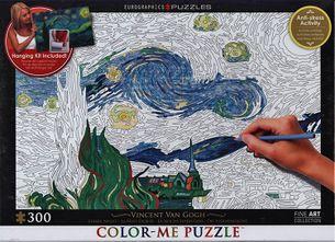 Puzzle 300: Hviezdna noc (Color Me Puzzle)