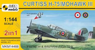 Curtiss H-75/Mohawk III French & British Fighter