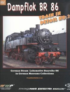 Dampflok BR 86, Train in detail No. 2