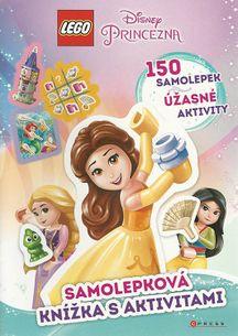LEGO Disney Princezná: Samolepková knížka s aktivitami