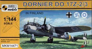 Model Dornier Do-17Z-2/3 `In Finland