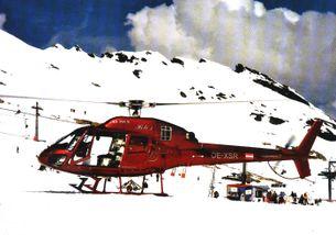 """Rakúsky Eurocopter AS 355 N Ecureuil 2, OE-XSR """"Heli-1"""""""