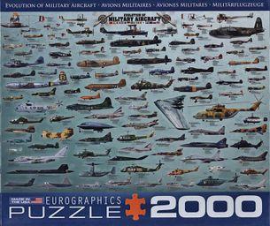 Puzzle 2000: História vojnových lietadiel (Evolution of Military Aircraft)