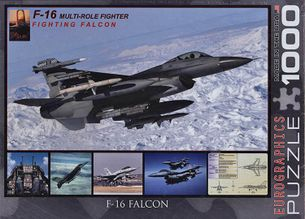 Puzzle 1000: F-16 Falcon
